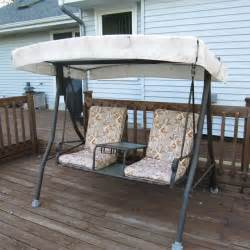 menards swing replacement canopy garden winds