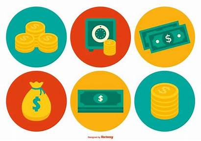 Money Icon Vector Colorful Cash Vecteezy Clipart