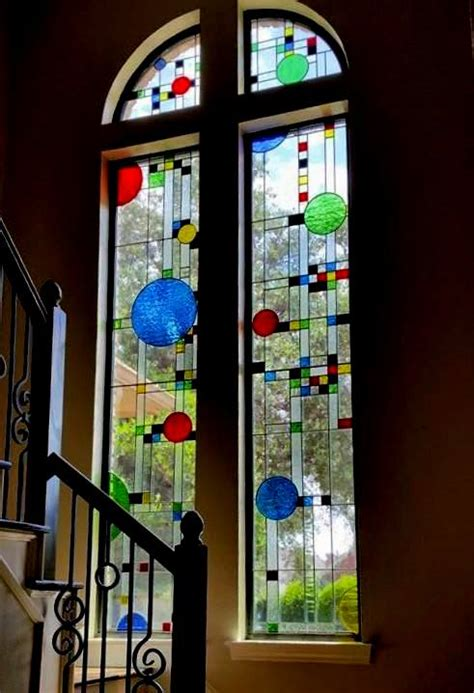 custom  stained glass windows giving homes character