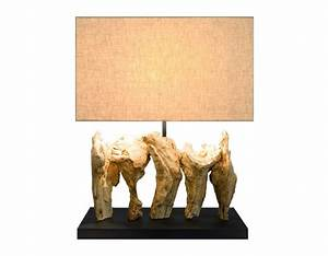 Lampe Bois Design : lampe pied bois objet d co unique pour cr er votre ambiance ~ Preciouscoupons.com Idées de Décoration