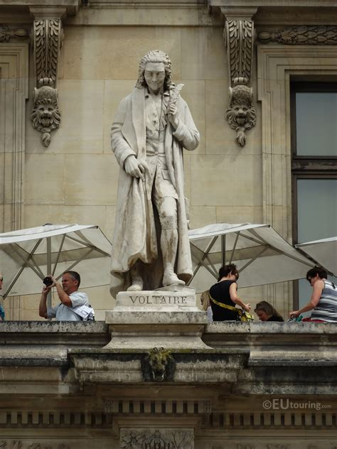 Photos Of Voltaire Statue On Aile Colbert At Musee Du