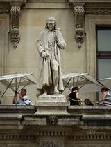 Photos of Voltaire statue on Aile Colbert at Musee du ...