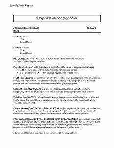 47 free press release format templates examples samples for Ceo press release template