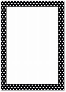 Black Dot Borders Clipart - Clipart Suggest