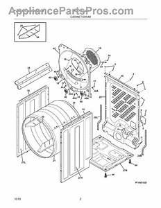 Parts For Frigidaire Faqe7011lw0  Cabinet    Drum Parts