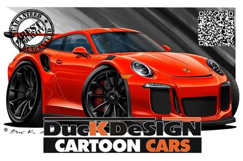 Gallery  Category Porsche Cartoon Car  Cartoon Car