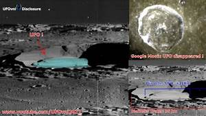UFO is hidden in the Crater Manilius on the Moon 1968 ...