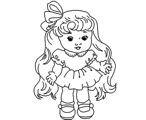 doll sketch drawing  getdrawingscom   personal