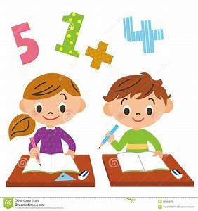 School, child, study stock vector. Illustration of ...