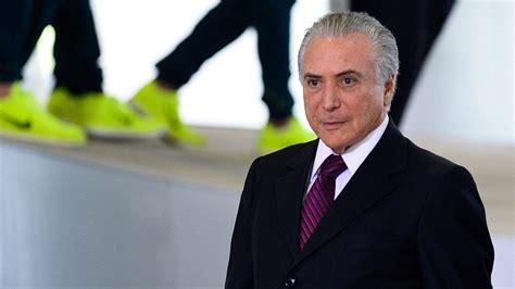 Michel Temer, Nuevo Presidente De Brasil