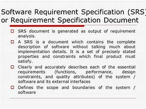 requirement document confidential 5 software With srs software requirement specification template