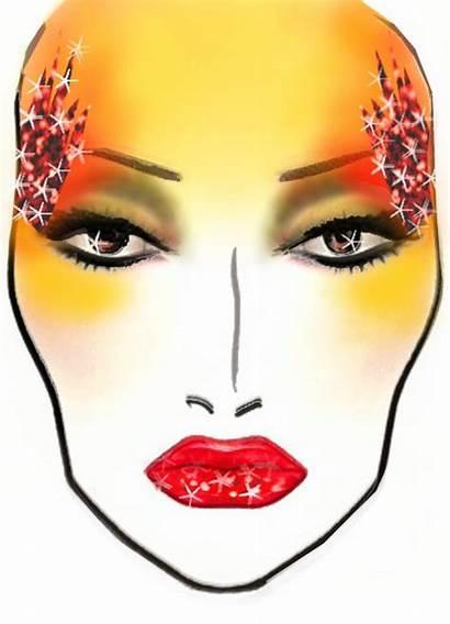 Face Chart Looks Designed Artistry