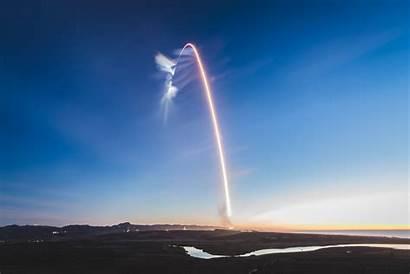 Falcon Launch California Flight Spacex Exposure Iridium
