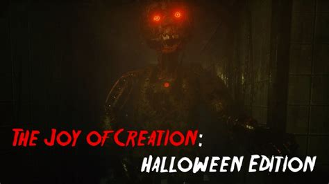 The Joy Of Creation Halloween Edition  Cat & Mouse Youtube