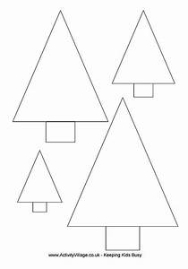 christmas tree cutouts printable With activity village christmas templates