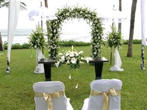 outside wedding decorations simple wedding decorations ideas