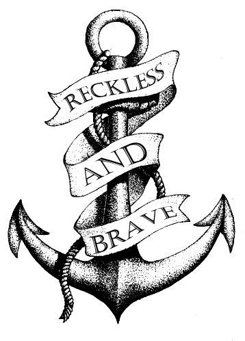 I want this #anchor #tattoo   Drawings, Tattoos, Cool drawings