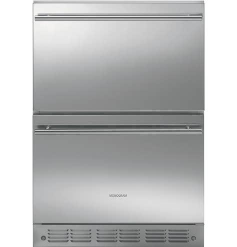 ge monogram double drawer refrigerator module zidsbss ge appliances