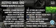 Justified Image Grid Gallery Plugin