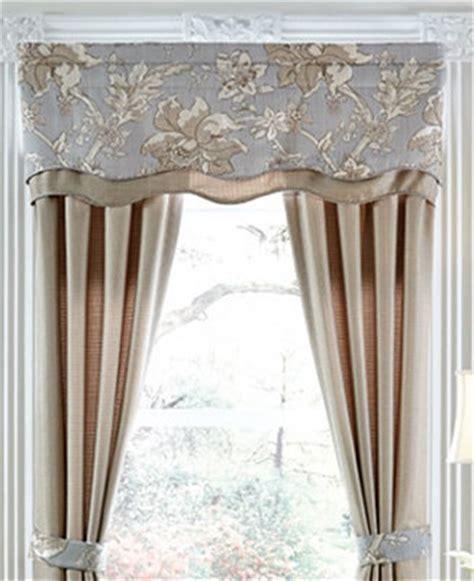 Macys Valances by Croscill Alexandria Scalloped Window Valance Window