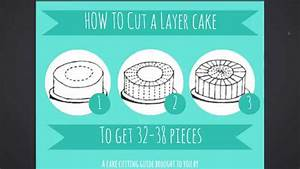 Cake Cutting Guide  Infographic  How To Cut A Layer Cake