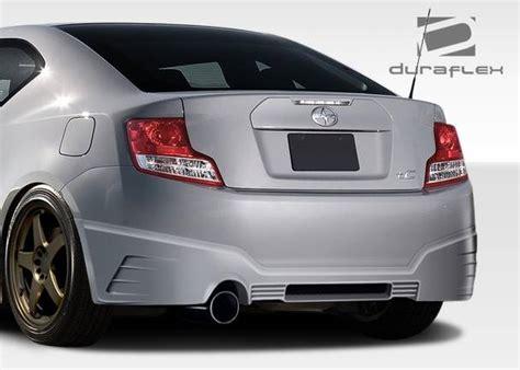 scion gtr scion tc duraflex gt r rear bumper cover 1 piece 108469
