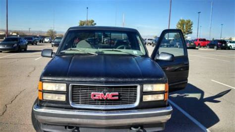 how petrol cars work 1997 gmc 1500 club coupe seat position control purchase used 1997 gmc sierra 1500 extended cab 4wd z71 v8 5 0 sle liter 3rd door automatic in