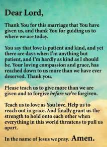 marriage prayer god  put  hedge  protection   marriage   years