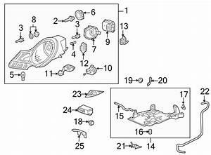 2001 Porsche Boxster Socket  Connector  Harness  Headlamps