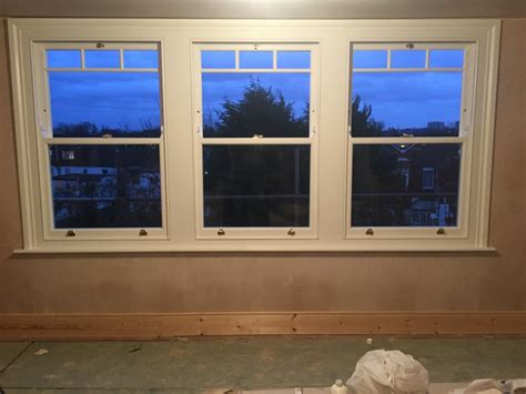 timber sash window installation  highgate north london enfield windows