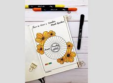 A Floral Mood Tracker For Your Journal – Kelly Creates