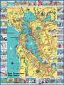 a clickable, pictorial map of the San Francisco Bay Area