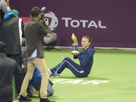 Elise Mertens shrugs off back pain to beat Simona Halep for Qatar Open title- The New Indian Express