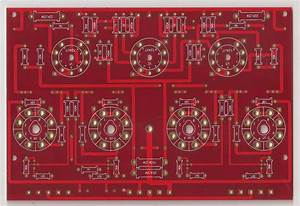 El34 Pp Power Stereo Amplifier Pcb 1 Piece