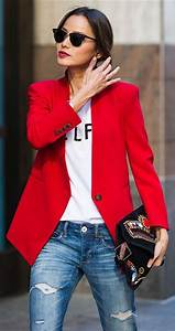Street Style outfit Ideas With Red Color u2013 Glam Radar