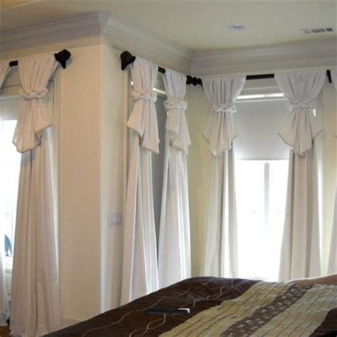 curtain draping ideas 17 best ideas about curtain designs on curtain