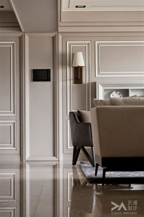 Modern Wainscoting Panels by Contrast Of Two Tone Paneling Temecula