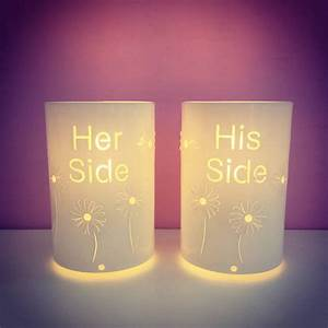 Design Your Own Gift Card Free His Side And Her Side Table Lamps By Kirsty Shaw