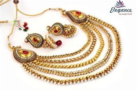 One Gram Gold Indian Bridal Jewellery At Rs 1500 /set Jade Green Jewelry Set Leaf Ella Richmond Bc Brands Korea Estate Wedding Bands Kimberly Bay Area