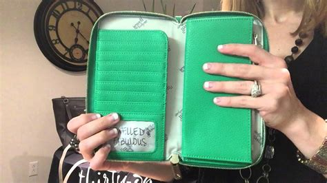 All About The Benjamins Wallet Jewell By Thirty One Youtube