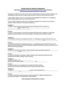 exles of resume objectives 25 best ideas about resume objective exles on career objective exles
