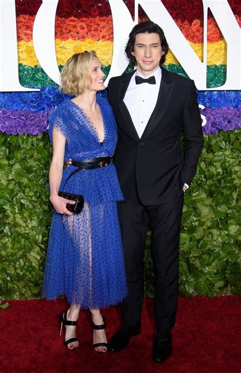 adam new york joanne tucker and adam driver 2019 tony awards in new york