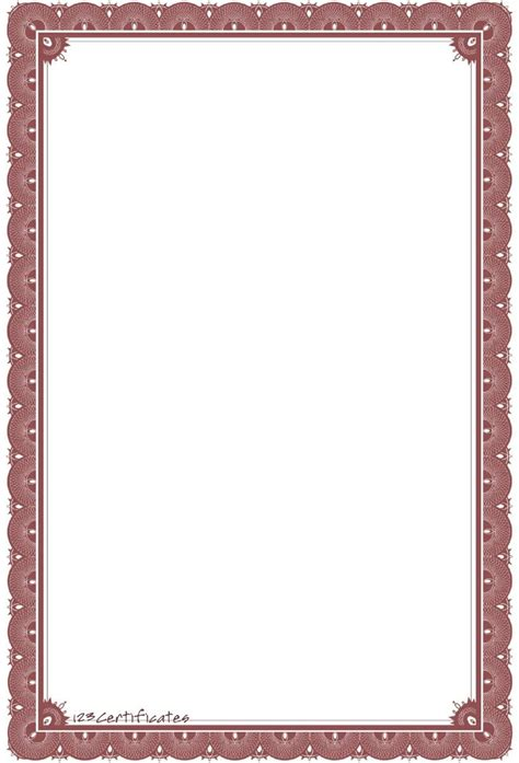 diploma border template background templates formal certificate borders to