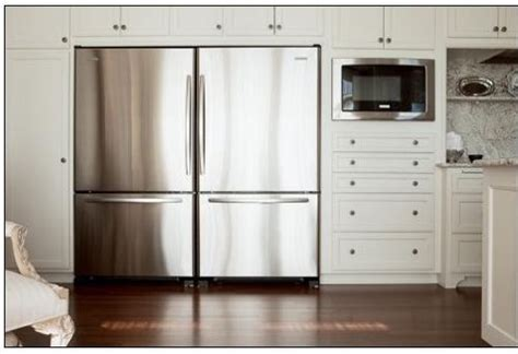 Double Fridge Ideas, Pictures, Remodel And Decor. Wall Mounted Tv Cabinet With Doors. King 5000-watt Electric Garage Heater With Thermostat. Pacific Garage Doors. Brass Door Knobs. Dog Door Screen Door. Solid Core Wood Door. How To Replace A Garage Door Window Pane. Sliding Door Sizes