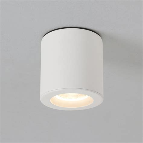 Surface Mounted Led Ceiling Light by Astro Lights Kos Surface Mounted Gu10 Downlight Ip65 In