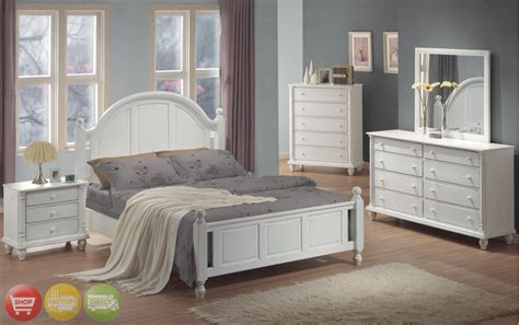 Bedroom Furniture Sets White by Transitional White Finish Bedroom Furniture Set Free