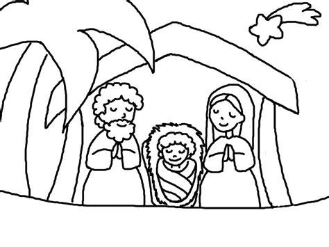 disegni da colorare natale disegni sacra famiglia