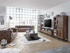 Möbel Industrial Style : industrial chic m bel fabrikschick massivum ~ Indierocktalk.com Haus und Dekorationen