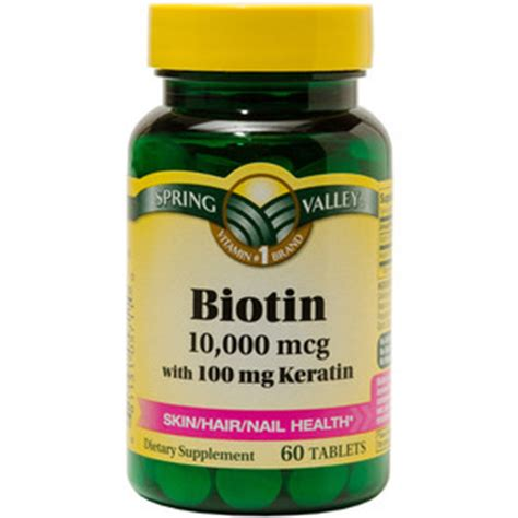 Spring Valley Biotin 10,000 mcg Reviews ? Viewpoints.com