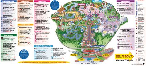 walt disney world map   disney disney world map
